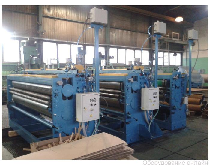 Фото объявления Оборудование для производства гофротары
