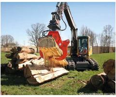 гидравлические клещи на экскаватор Woodcracker W 600 фото