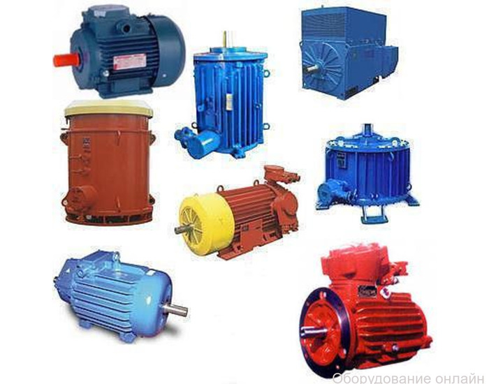 Фото объявления Электродвигатели промышленные в наличии