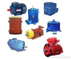 Электродвигатели промышленные в наличии