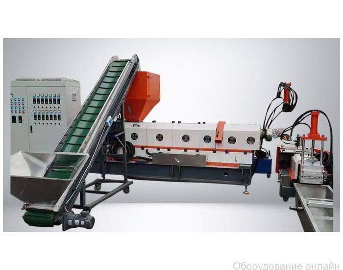 Фото объявления Гранулятор для пластика двухкаскадный до 400 кг/ч