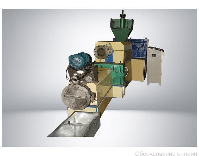 Фото объявления Линия грануляции мягких отходов SJ 150/140 S