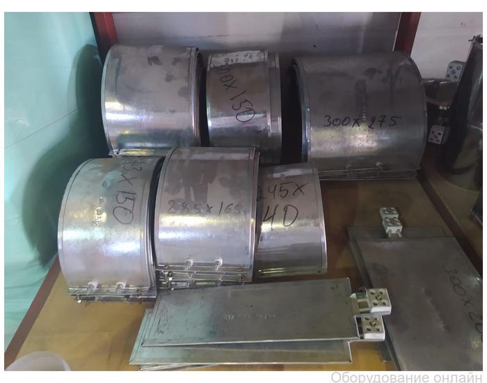 Фото объявления Хомутовые (Кольцевые) ТЭНы для грануляторов от 0,45 кВт