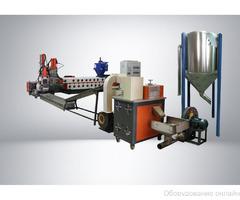 Двухкаскадный гранулятор для мягкого пластика SJ2 125/125 SGM