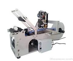 Этикетировщик полуавтоматический для круглых бутылок MPFL-50 фото