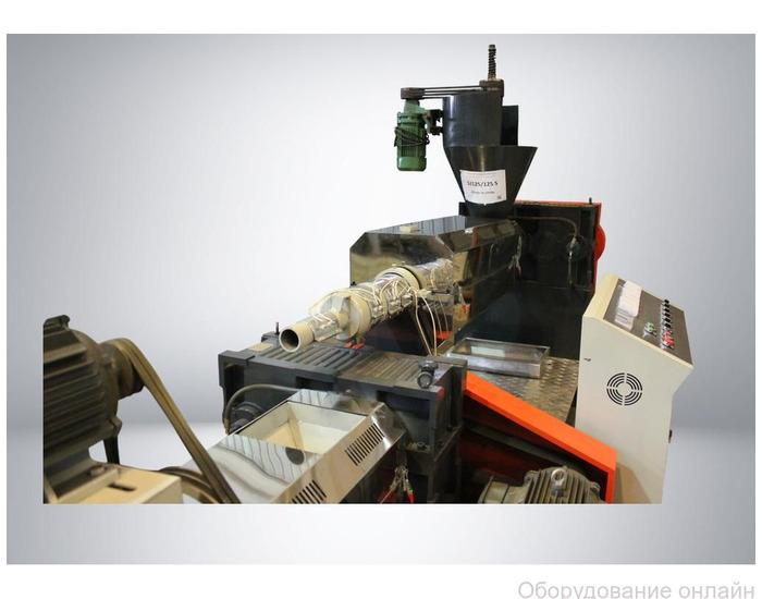 Фото объявления Линия грануляции мягких отходов SJ 125/125