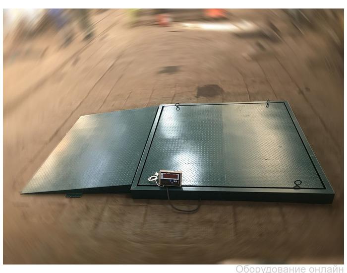 Фото объявления Складские весы электронные платформенные