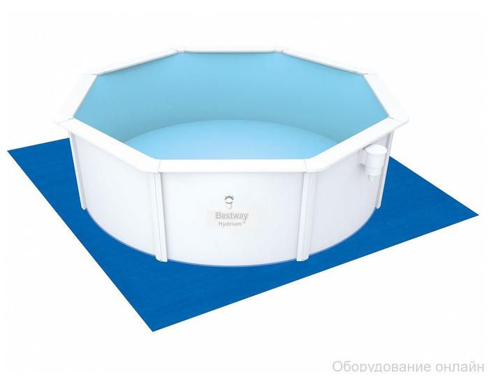 Фото объявления Стальной бассейн Hydrium Pool Set 460х120 см, 17430 л., песчн фильтр-насос 3785л/ч, лест.