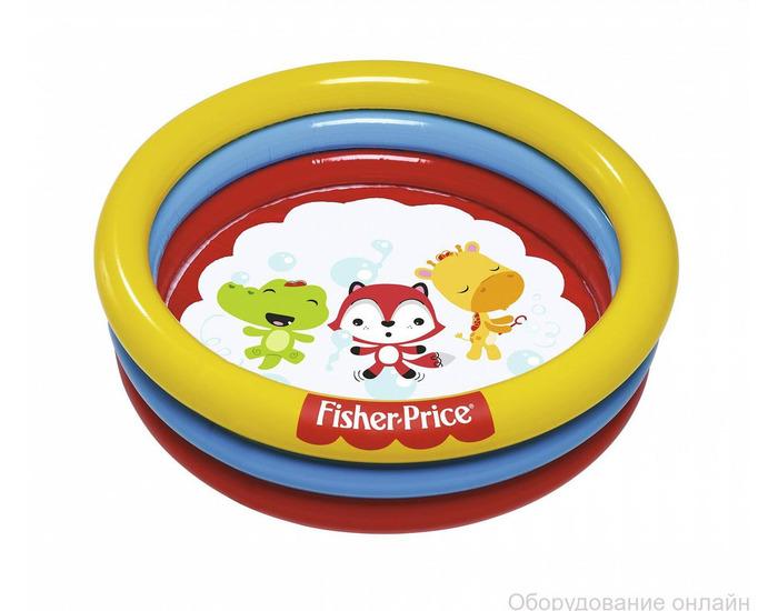 """Фото объявления Бассейн надувной """"Fisher Price"""" 91 х 25 см, с 25 шариками, от 2 лет"""