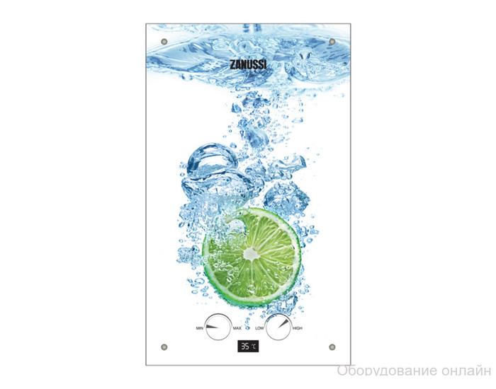 Фото объявления Газовая колонка Zanussi GWH 10 Fonte Glass Lime