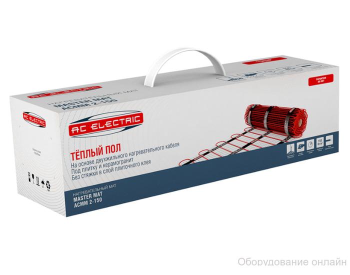 Фото объявления Мат нагревательный AC ELECTRIC ACMM 2-150-1 (комплект теплого пола)