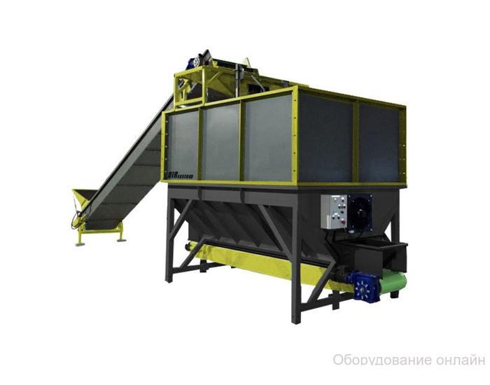 Фото объявления Накопительный бункер с транспортером для овощехранилища