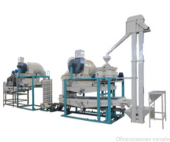 Оборудование для шелушения и сепарации льняной семечки TFYMZ-200 фото