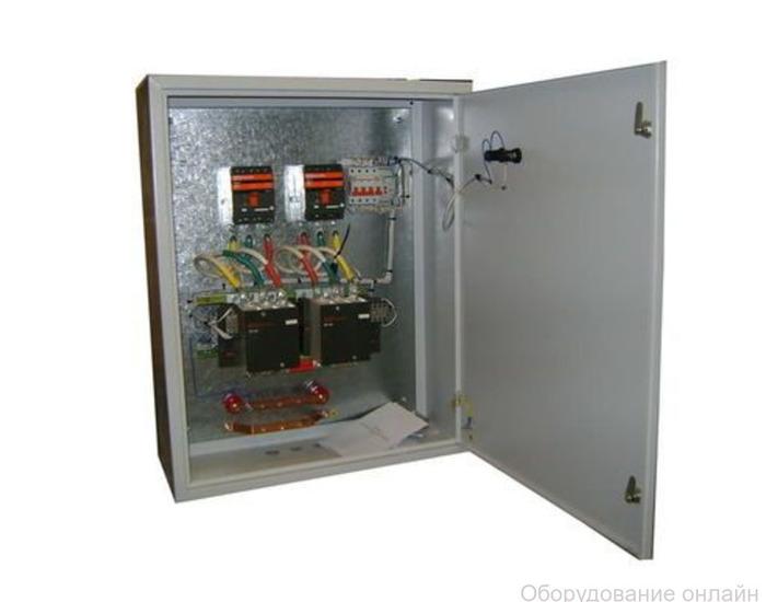 Фото объявления Шкаф автоматического ввода АВР-100-10