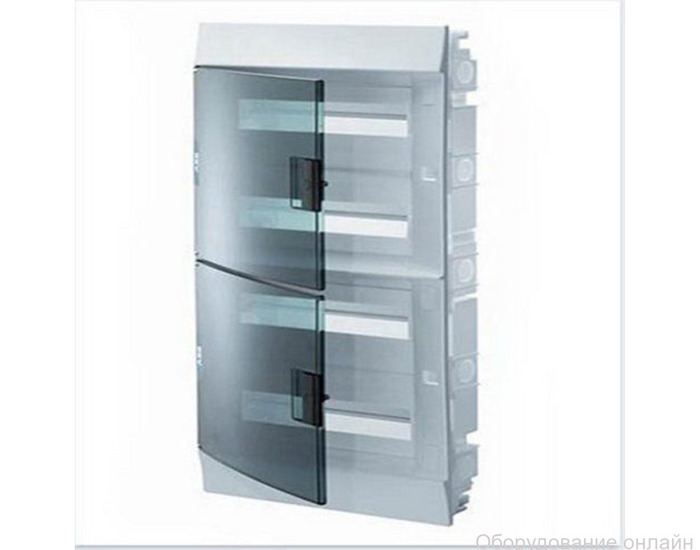 Фото объявления Бокс в нишу Mistral41 54М зелёная прозрачная дверца арт.1SLM004101A1209