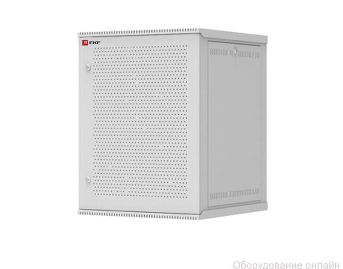 Фото объявления Шкаф телекоммуникационный разборный 18U (600х450) дверь перфорированная, Astra серия EKF PROxima
