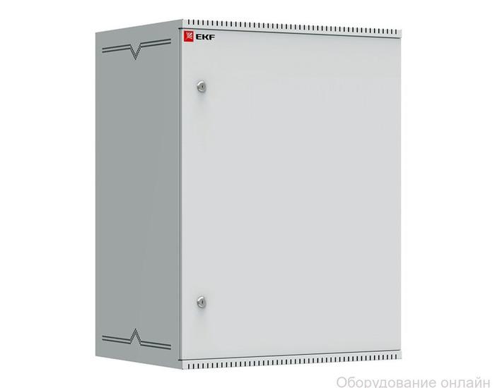 Фото объявления Шкаф телекоммуникационный настенный 15U (600х450) дверь металл, Astra серия EKF PROxima