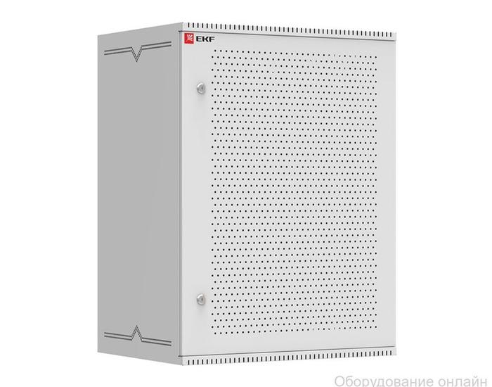 Фото объявления Шкаф телекоммуникационный настенный 15U (600х450) дверь перфорированная, Astra серия EKF PROxima