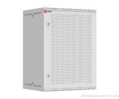 Шкаф телекоммуникационный настенный 15U (600х450) дверь перфорированная, Astra серия EKF PROxima фото