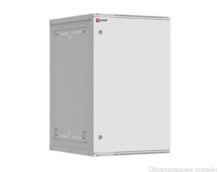 Фото объявления Шкаф телекоммуникационный настенный разборный 18U (600х650) дверь металл, Astra серия EKF PROxima