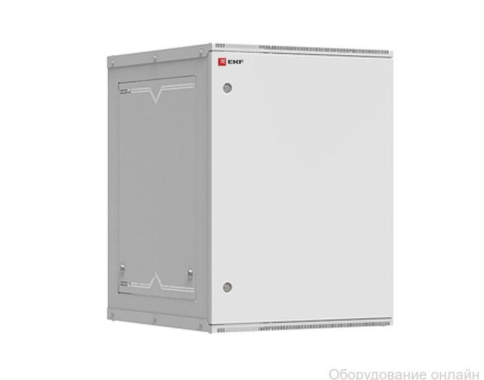 Фото объявления Шкаф телекоммуникационный настенный разборный 15U (600х650) дверь металл, Astra серия EKF PROxima