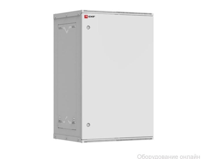 Фото объявления Шкаф телекоммуникационный настенный разборный 18U (600х450) дверь металл, Astra серия EKF PROxima