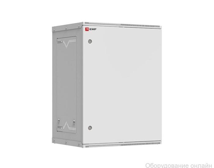 Фото объявления Шкаф телекоммуникационный настенный разборный 15U (600х350) дверь металл, Astra серия EKF PROxima