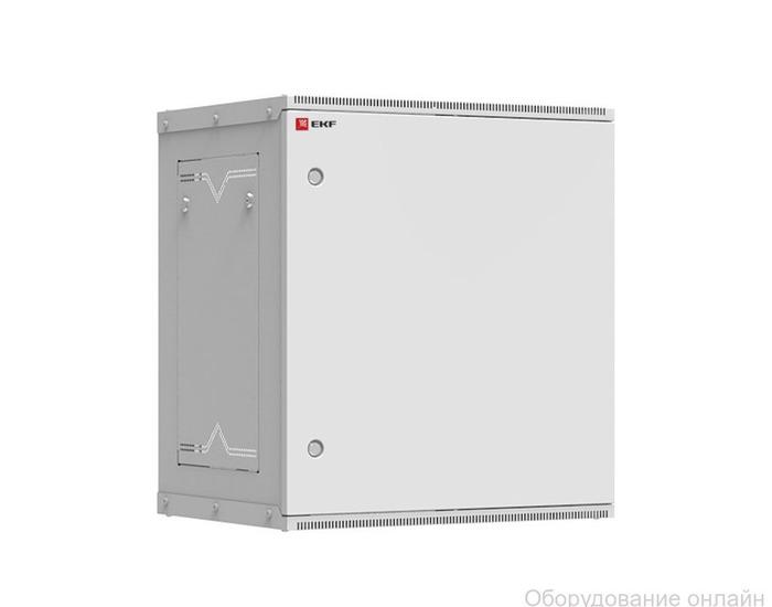 Фото объявления Шкаф телекоммуникационный настенный разборный 12U (600х350) дверь металл, Astra серия EKF PROxima