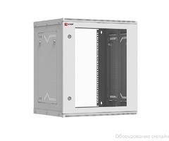 Шкаф телекоммуникационный настенный разборный 12U (600х350) дверь стекло, Astra серия EKF PROxima