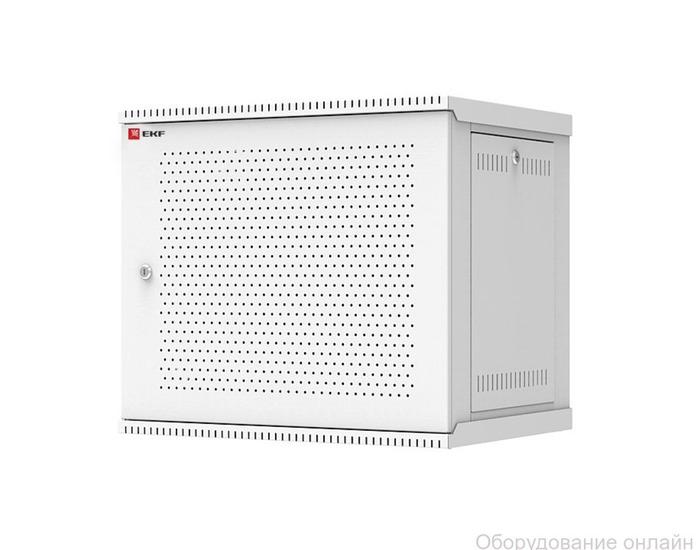 Фото объявления Шкаф телекоммуникационный разборный 6U (600х650) дверь перфорированная, Astra серия EKF PROxima