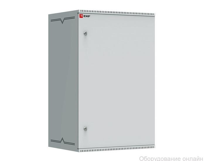 Фото объявления Шкаф телекоммуникационный настенный 18U (600х450) дверь металл, Astra серия EKF PROxima