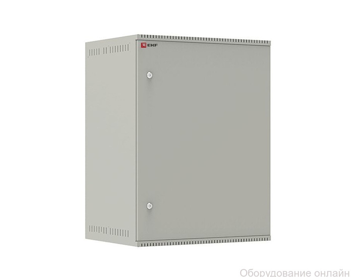 Фото объявления Шкаф телекоммуникационный настенный 15U (600х450) дверь металл, Astra E серия EKF PROxima