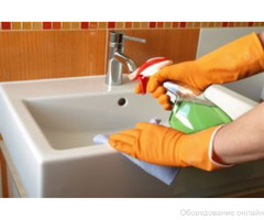 Уборка санузлов, ванных и туалетных комнат фото