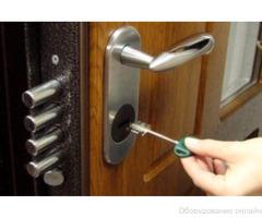 Замена и установка замков в металлические и межкомнатные двери фото