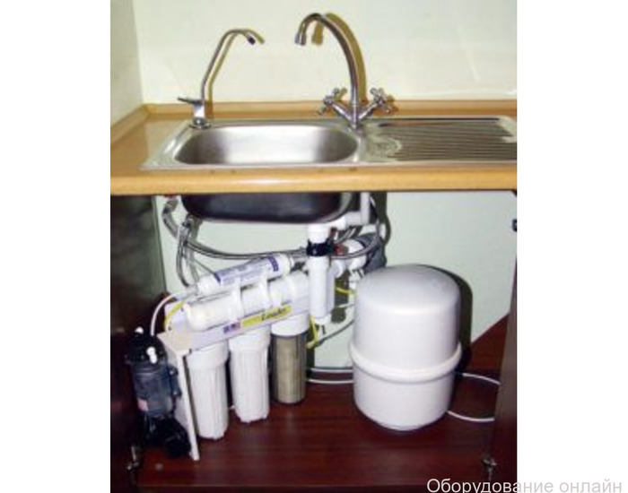 Фото объявления Установка фильтра для воды