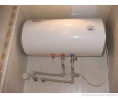 Фото объявления Установка водонагревателя в ванной комнате