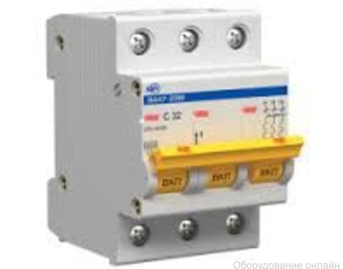 Фото объявления Методика испытания автоматических выключателей